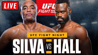 🔴 UFC Vegas 12 Live Stream - HALL vs SILVA Fight Night Reaction Watch Along