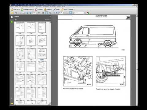 renault trafic workshop manuals