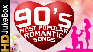 90's Most Popular Romantic Songs Jukebox   Most Lovely Bollywood Hindi Songs