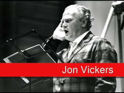 Jon Vickers: Flotow - Martha, 'M'appari Tutt'amor'
