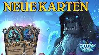 Neue Karten Enthüllt 3 Knights of the Frozen Throne TopMetaDecks German/Deutsch