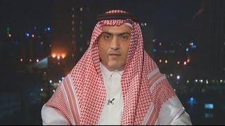 السفير السعودي لدى العراق ثامر السبهان متحدثا عن الحملة التحريضية ضد السفارة السعودية