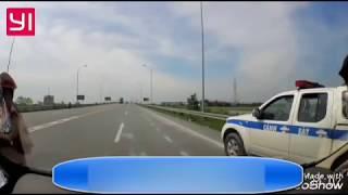 CSGT Bắn tốc độ thiếu biển tại trạm thu phí Cao Bồ, dừng xe không an toàn bị luật sư nhắc nhở ngược