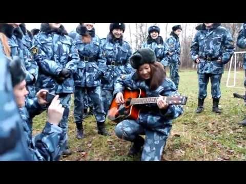Студентка из Калмыкии (Б.Царын) Академия ФСИН России г.Рязань 2012г