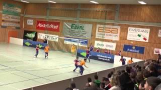 TuS Traunreut U12 Hallenmasters 2015 Spiel 24: Hertha BSC Berlin-FC Basel 1:1