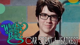 Car Seat Headrest - What's In My Bag?