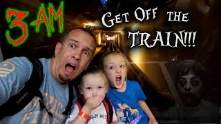 Do Not Stay on the Subway Train Alone at 3AM!!! Mom Gets Taken! (Ghost) Friday the 13th!