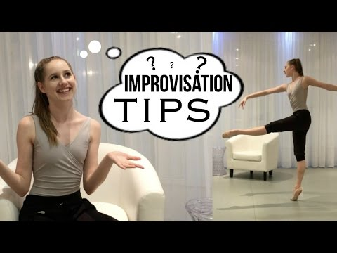 Improvisation | Dance Survival Tips | Talia