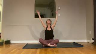 Wrist free lower body yoga with Babz