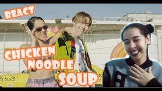 Reagindo J-hope 'Chicken Noodle Soup (feat. Becky G)' MV React