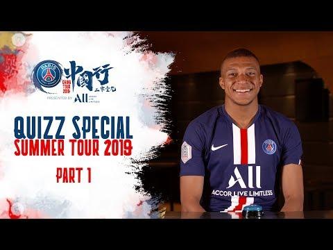 SUMMER TOUR 2019 QUIZ: PART 1 (ENGLISH 🇬🇧)