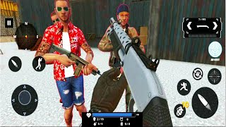 Grand Gangster War Shooting - FPS Shooting Games - Android GamePlay #7