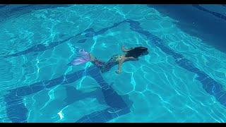 Havuzumuza Deniz kızı geldi   Elif ile Eğlenceli Çocuk Videosu