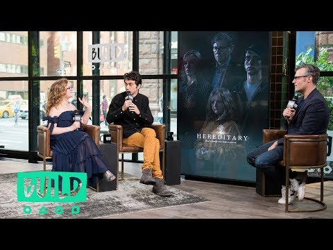 """Alex Wolff & Milly Shapiro Talk About The Horror Film, """"Hereditary"""""""