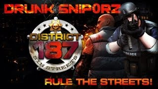 District 187: Sin Streets | Drunk 1337 Snip0rz - PC Gameplay
