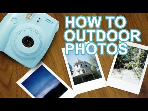 How To Take Fujifilm Instax Mini Photos Outdoors