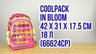 Розпакування CoolPack for Kids In bloom 42 х 31 х 17.5 см 18 л 66624CP