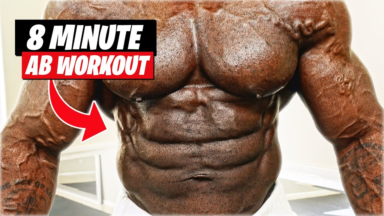 8 MINUTE AB WORKOUT (6 PACK GUARANTEED)