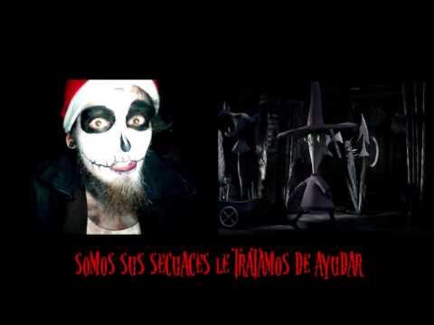 Atrapa a santa atroz/ kidnap the sandy claws korn cover/en español