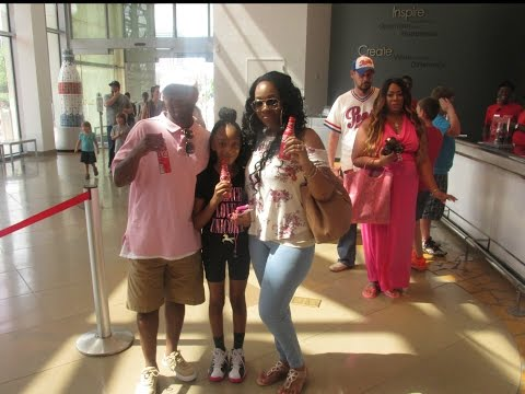 """""""The World Coca cola EXPERIENCE iN Atlanta Hanging with **Loveinthecity"""