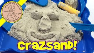 Cra-Z-Sand Shape And Mold Playset!  It's Amazing...from CraZArt