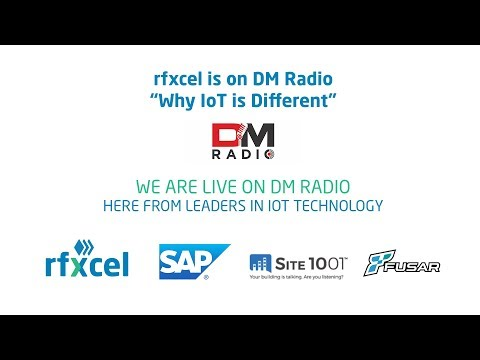 rfxcel on DM Radio: Why IoT is Different – IoT in Pharmaceutical Supply Chain