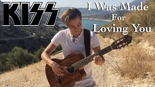 KISS - I Was Made For Loving You (Acoustic) - Fingerstyle Guitar by Thomas Zwijsen