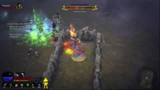 Diablo 3, gameplay Aventura 42, Guardian de la llave, Buras el empalador
