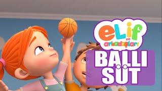 Elif ve Arkadaşları - Bölüm 24 - Ballı Süt - TRT Çocuk Çizgi Film