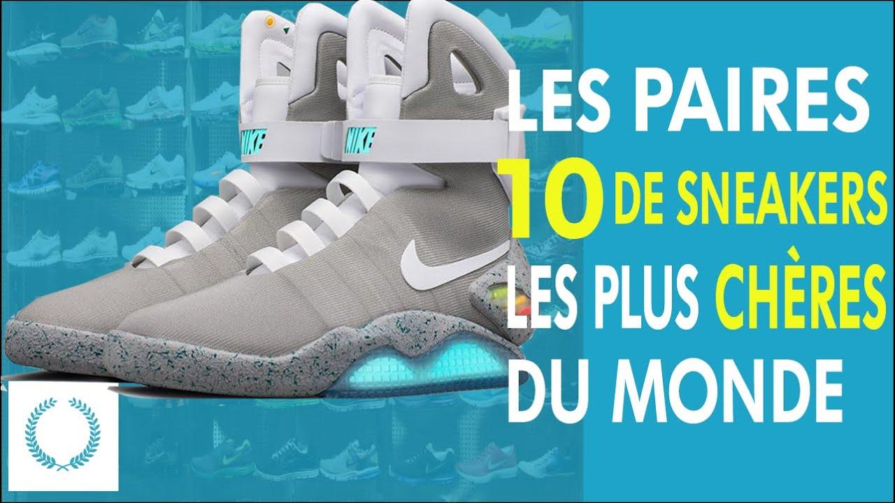 Les 10 Paires de Sneakers Les Plus Chères Au Monde
