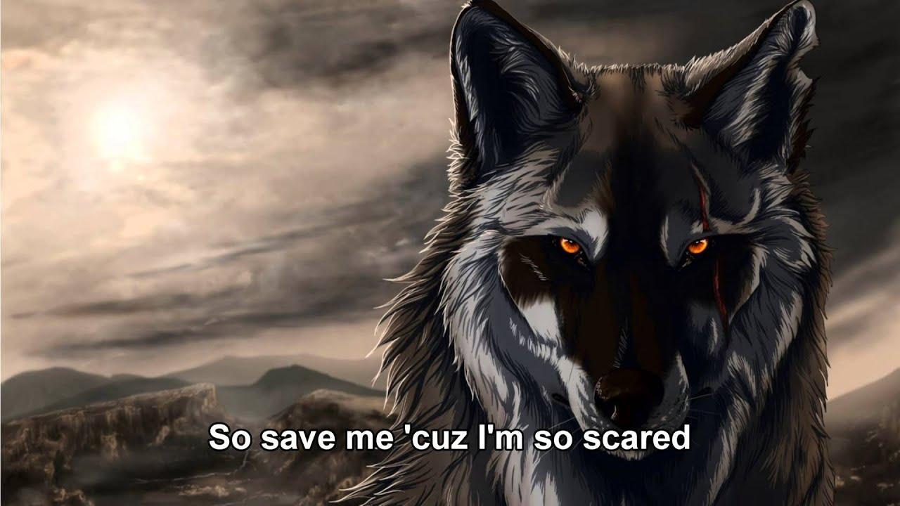Skeleton Cartoon Wolves