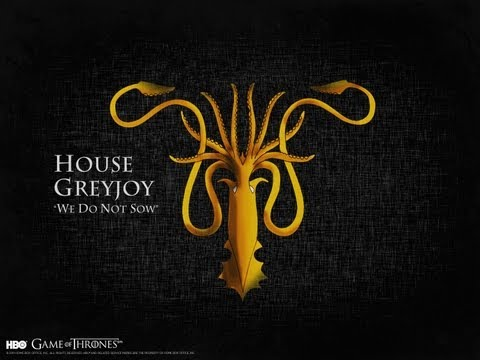 Game of Thrones - History and Lore of Westeros: House Greyjoy