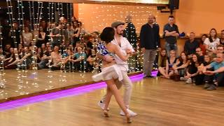 Daša & Pavel samba de gafieira show in Stolarna
