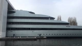Feadship SAVANNAH Superyacht Launch