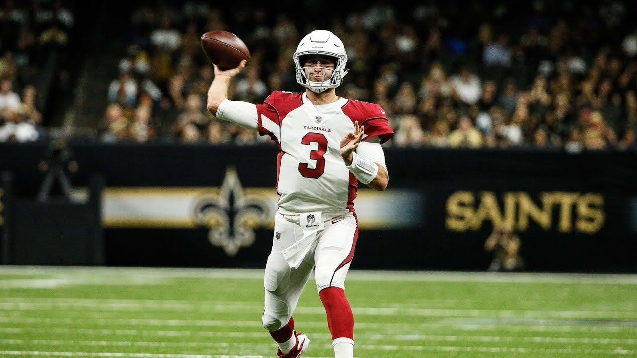 Josh Rosen Cardinals QB Film Review vs Saints Preseason