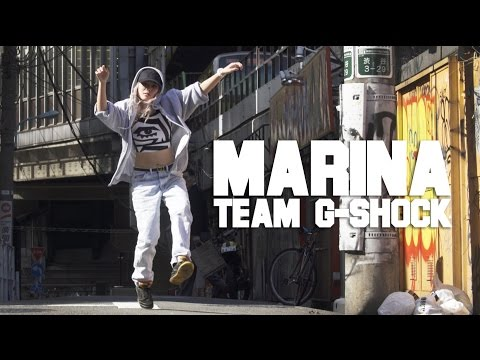 MARINA of Team BABY-G in Shibuya | YAK FILMS