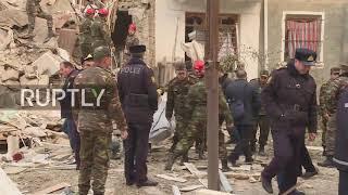 Azerbaijan: Gas explosion leaves three dead in Ganja