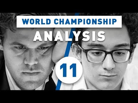 Caruana - Carlsen Game 11 World Chess Championship 2018 | Grandmaster Analysis