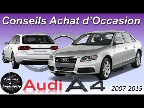 OCCASION : AUDI A4 B8 - CONSEILS D'ACHAT