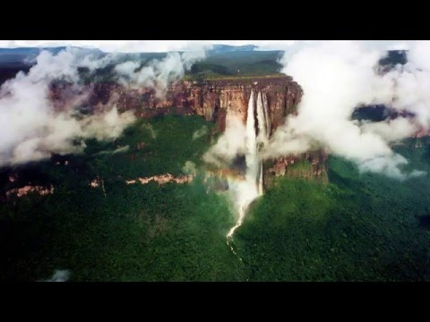 Beautiful Angel Falls, which is located Venezuela!
