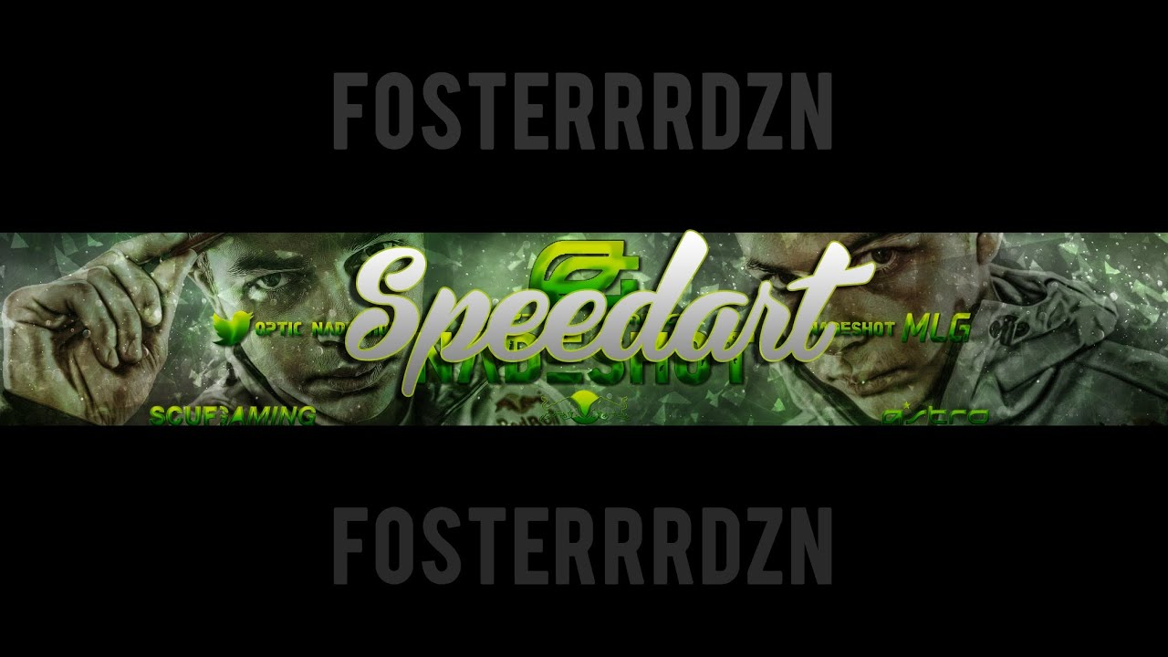 optic nadeshot banner speedart youtube