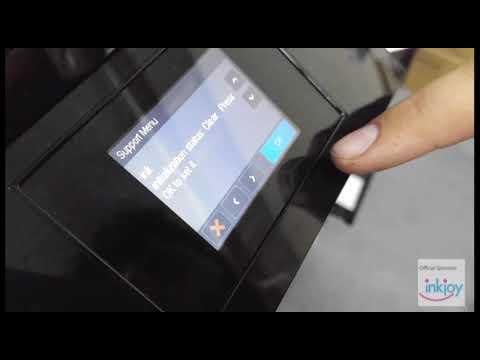 HP 8600 series Ink Depleted Message Tutorial