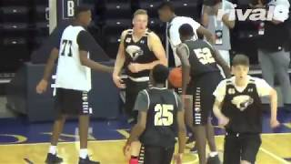 2018 Four-Star Ignas Brazdeikis Highlights from NBPA Top 100 Camp