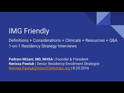 IMG Friendly + Q&A (Live Broadcast from Kaplan Washington DC & Irvine, California)