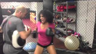 Hoopz Cardio Boxing Workout