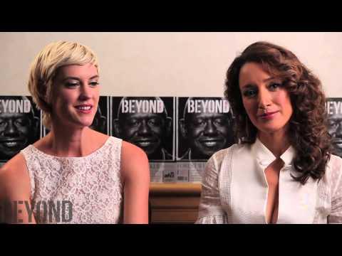 "Jennifer Beals & Lauren Lee Smith talk ""Cinemanovels"" at Tiff '13"