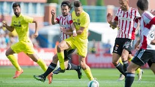 Resumen Villarreal CF B 1-1 UD Logroñés