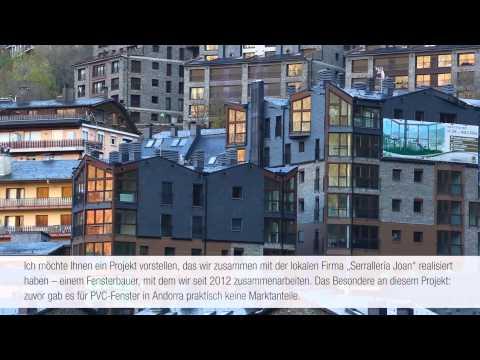 REHAU ON AIR: Fenstersysteme überzeugen in Andorra