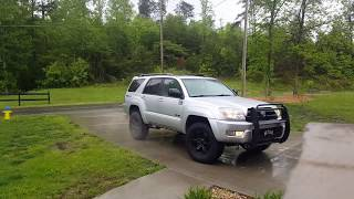 2004 4runner Flowmaster 40 series (outside)