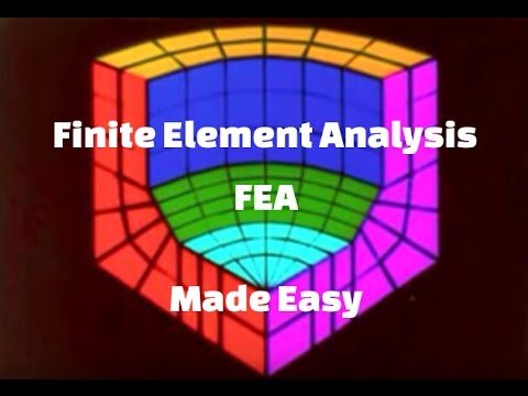 Finite element method fem finite element analysis fea for Finite element methode